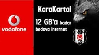 Vodafone Bedava İnternet (Karakartal Kampanyası) 2017