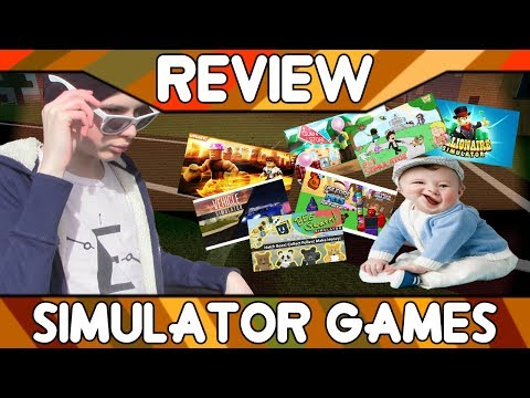 Simulator Games [ROBLOX Game Review]