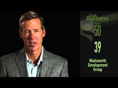 Utah Business' Fast 50: Wadsworth Development Group