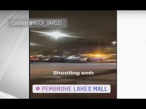 Report Of Shooting Sparks Chaos At Pembroke Pines Mall