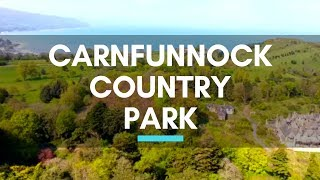 Carnfunnock Country Park, County Antrim, Northern Ireland - North Coast Road Trip #Parks #Travel