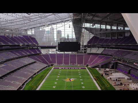 US Bank Stadium: Newest NFL 'Cathedral' Engineered by the Powering America Team