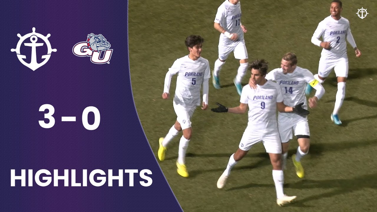 Men S Soccer Vs Gonzaga 3 0 Highlights Youtube