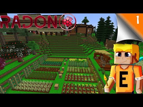 Radon - EP 1 - Mischief of Mice Server - Base Tour and Introduction
