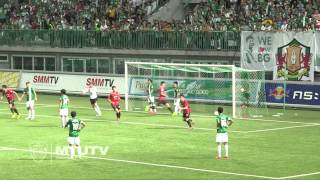 MTUTD.TV Highlight BGFC 2-1 SCG Muangthong - Thai Premier League - Round 25