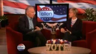 Bill Maher Interview on Ellen 11/04/08
