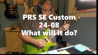 PRS SE Custom 24-08. What can it do?