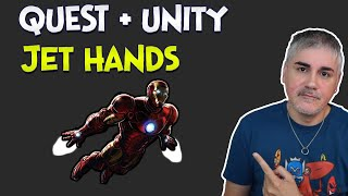 Unity XR - How to make hand jets in your Quest games using VRIF