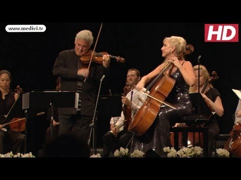 Pinchas Zukerman, Amanda Forsyth and the VFCO - Vivaldi Concerto in B flat major - Verbier Festival