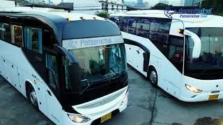 [4K] บริการ รถบัสเช่า รถทัวร์เช่า - ภัสสรชัยทัวร์