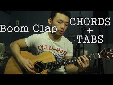 Boom Clap ♪ Charli XCX ♪ EASY Guitar Lesson CHORDS