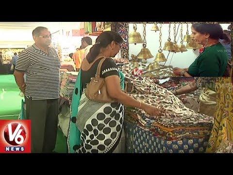 Golkonda Handicrafts Textiles Exhibition Begins In Hyderabad City