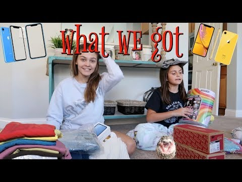 What We Got For Christmas Haul 2018! / Emma And Ellie