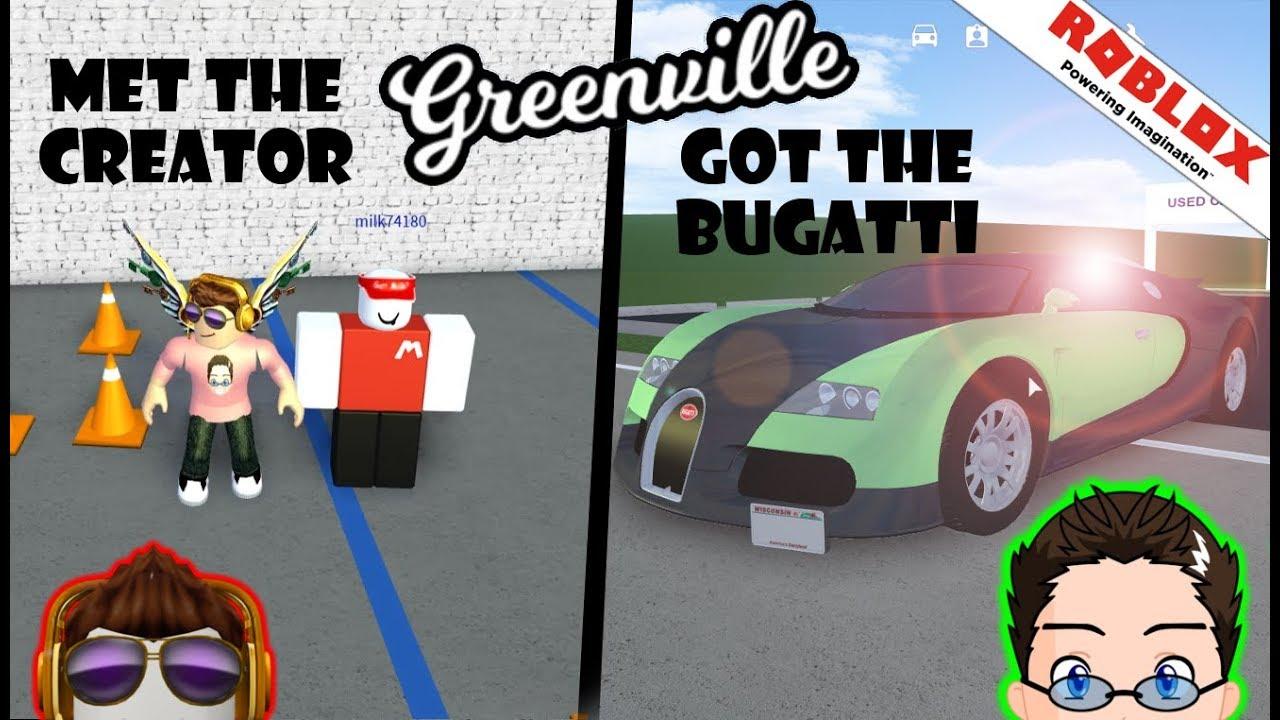 Roblox Greenville The Owner Bugatti And Secrets Youtube