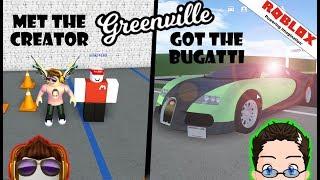 Roblox - Greenville - The Owner, Bugatti, and Secrets!!!