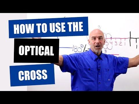 Optician Training: How To Use The Optical Cross