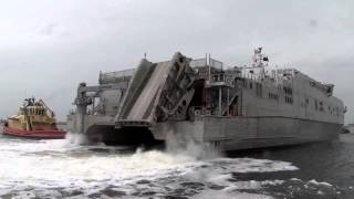 USNS Spearhead Joint High Speed Vessel Catamaran Visits Mayport