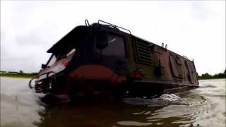 Axial GAZ 3937 Vodnik ,Driving and Swimming 22-05-2016