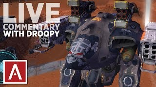 War Robots Update 2.9 - Live Server Gameplay with Droopy Sack!