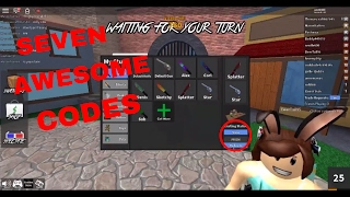 Seven common codes for MM2 Roblox Tips