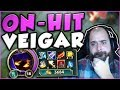 THIS NEW ON-HIT VEIGAR BUILD IS ACTUALLY GENIUS! ON-HIT VEIGAR TOP GAMEPLAY! - League of Legends