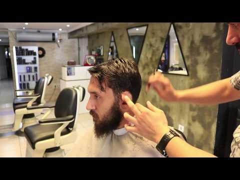 ASMR Turkish Barber Haircut and Beard Trim  4 (45 Mins)