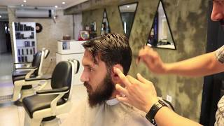 Download ASMR Turkish Barber Haircut and Beard Trim  4 (45 Mins) Mp3 and Videos
