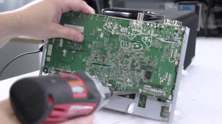 Mitsubishi Toshiba Samsung DLP TV Repair No Picture No HDMI NO VGA - DIY  DLP Main Board Replacement by ShopJimmy com