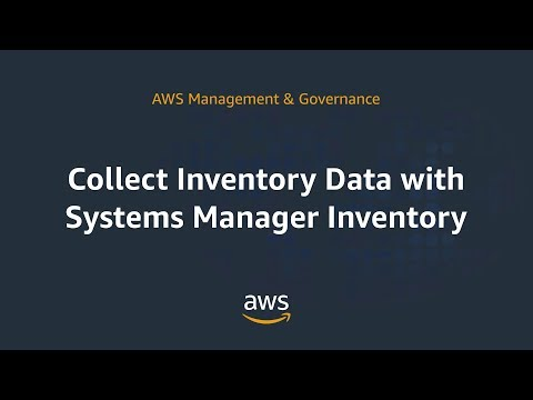 Collect Inventory Data with Systems Manager Inventory