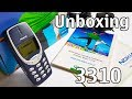 Nokia 3310 Unboxing 4K with all original accessories NHM-5NX review