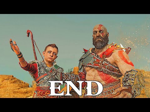 God of War ENDING + Secret ENDING Gameplay Walkthrough Part 14- Mother's Ashes (PS4) [GOD OF WAR 4]