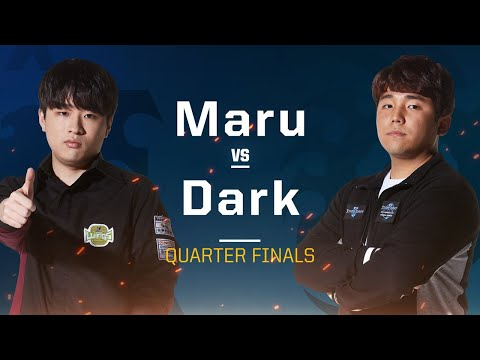 Maru Vs Dark TvZ - Quarterfinals - 2019 WCS Global Finals - StarCraft II