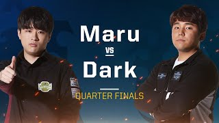 Maru vs Dark TvZ - Quarterfinals - 2019 WCS Global Finals - StarCraft II