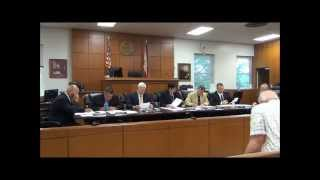 Jackson County Commission Regular Session 8-11-14
