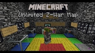Minecraft Unlimited Z-War Map #2: AK74 Và Bộ Thiếu Úy