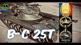 Batchat 25t #5 world of tank blitz Aced gameplay 6200 DMG