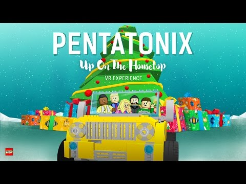 [OFFICIAL VIDEO] Up on The Housetop - Pentatonix (360 Version)