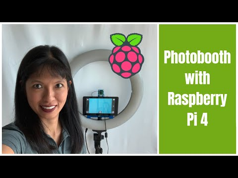 DIY PhotoBooth Tutorial with Raspberry Pi 4