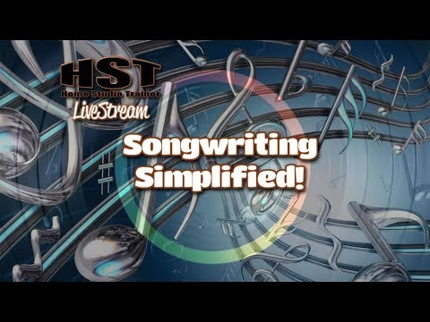 HST LiveStream - Songwriting with Jonny Lipsham (Mixing Rhyming Techniques)