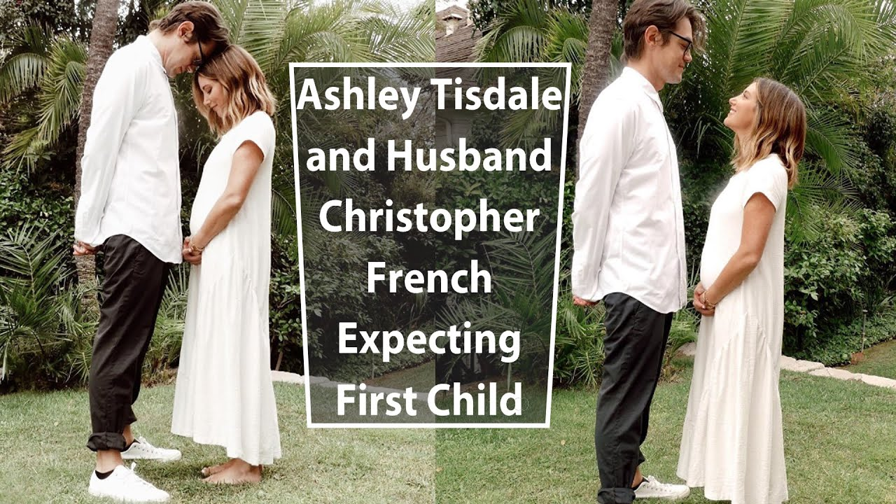 Ashley Tisdale wears white dress in photos announcing her ...