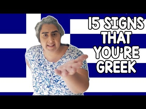 You Know You're Greek When... (15 Things Greeks All Experien