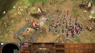 Age of Empires 3 Effective Sioux Rush!