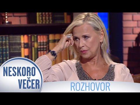Eva Máziková v Neskoro Večer
