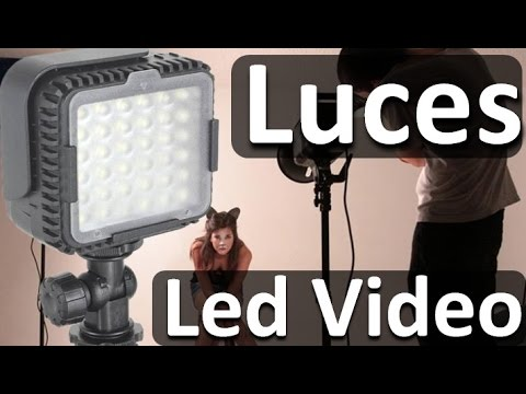 Luces Led Para Camaras De Video Luz Led Barata Para Mejorar Tus Videos Youtube