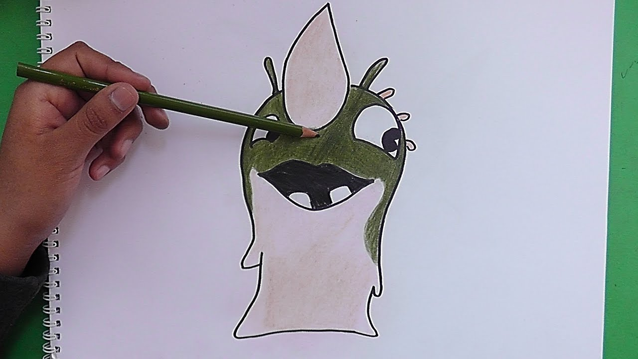 Dibujando y coloreando a Puas (Bajoterra) - Drawing and coloring ...