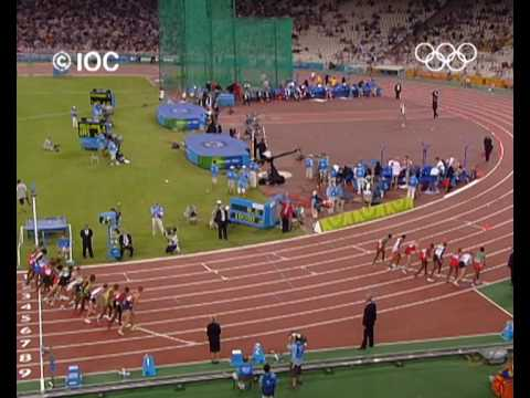 Gold & Silver for Bekele - Athens 2004 Olympics