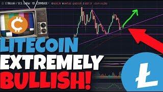 Litecoin & Bitcoin NO WHERE TO GO BUT UP: Extremely Bullish!