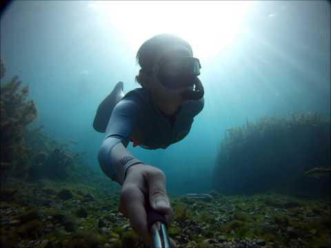 Freediving Barton Springs (GoPro HD)