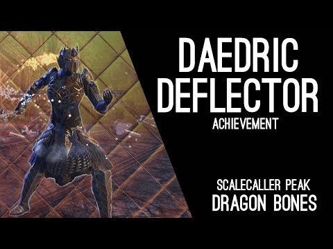 Daedric Deflector Scalecaller Peak Achievement - Dragon Bones DLC ESO