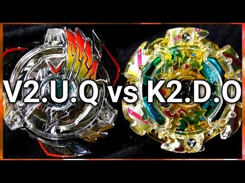 Victory Valkyrie .U.Q vs kaiser Kerbeus .D.O - BATALHA BEYBLADE BURST! ベイブレードバースト